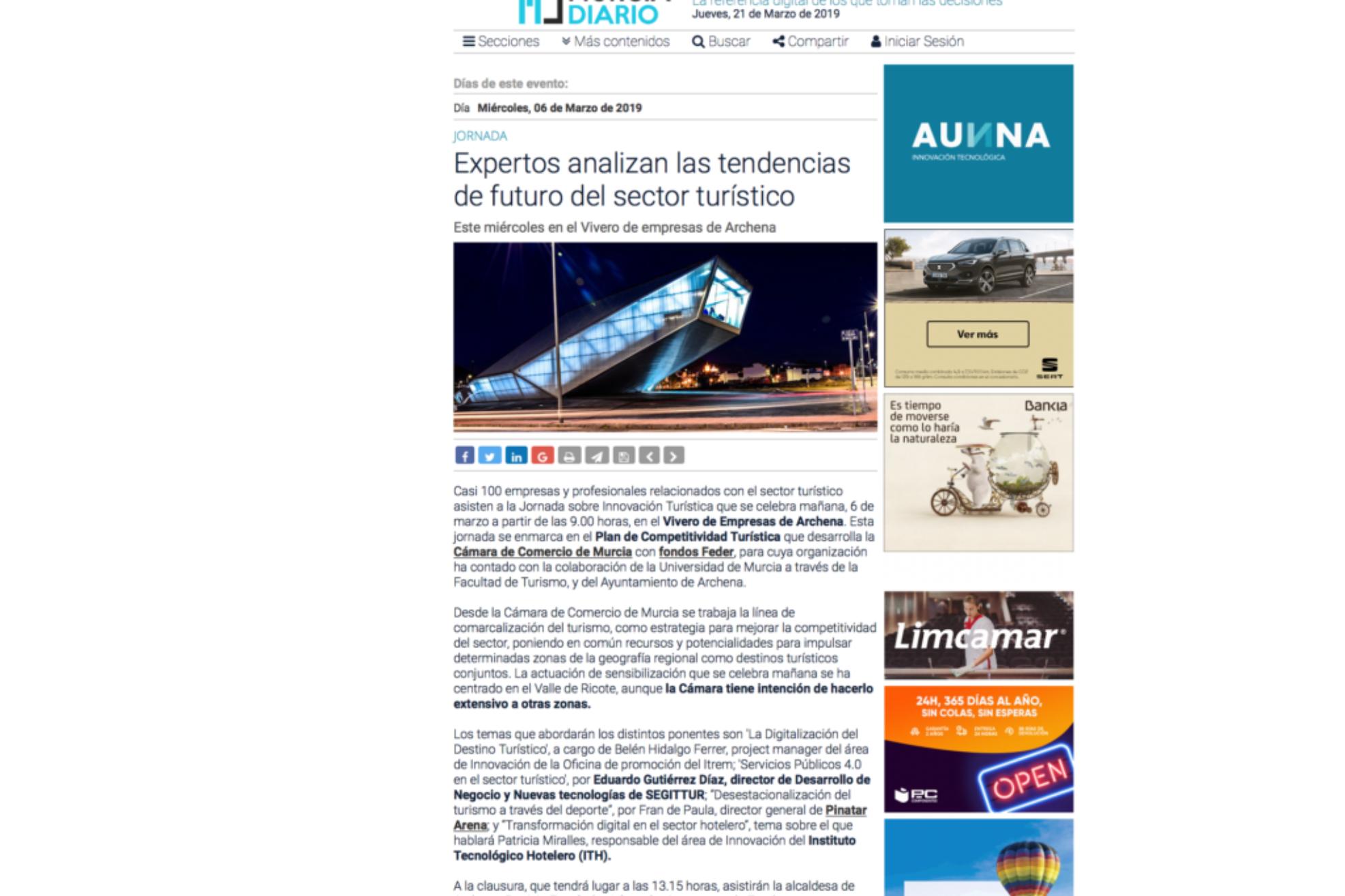 Jornadas Innovacion Turistica