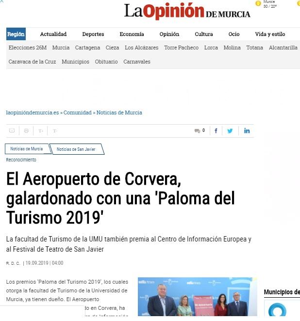 Premios Palomas la Opinión