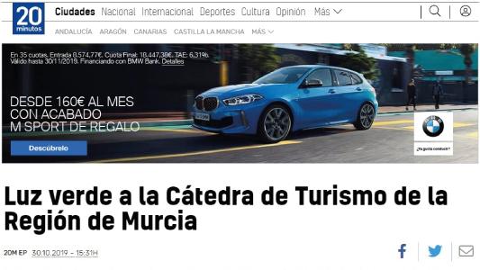 Luz-verde-a-la-Cátedra-de-Turismo-de-la-Universidad-de-Murcia-20minutos
