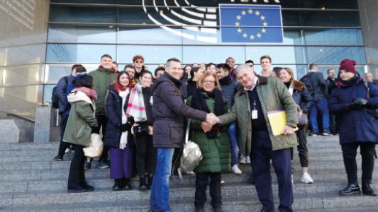 La-primera-promoción-de-Relaciones-Internacionales-visita-el-Parlamento-Europeo