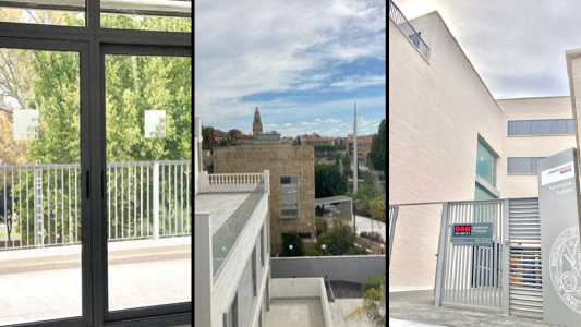 Foto Puesta a Punto de la nueva sede de la Facultad de Turismo y Relaciones Internacionales